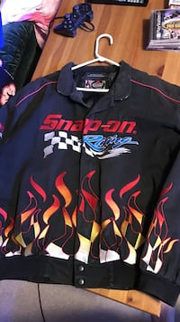 Men's Denim Snap-On Racing Jacket 3146 km