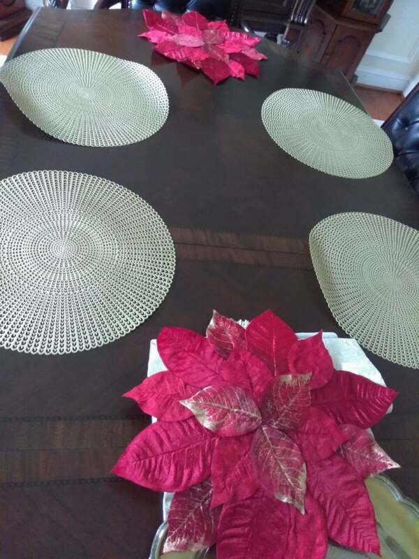 Placemats / end table mat / table decor 4