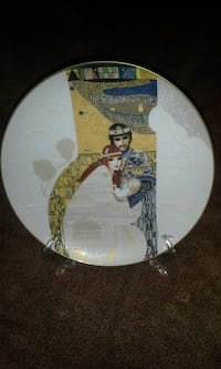 "Knowles ""Bathsheba & Solomon""collectors plate Metairie, 70001"