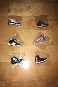 Jordan Shoe Keychains Mixed