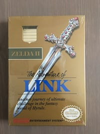 Original Sealed: 1988 NES The Adventures of Link Zelda II 2 Warrenton, 20186