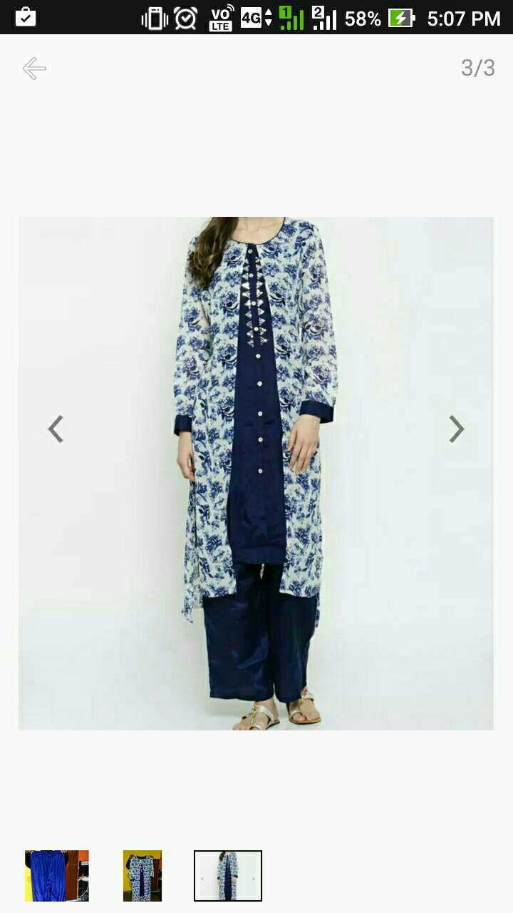 blue and white salwar kameez screenshot