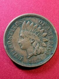1859 Indian head penny Bishopville, 29010