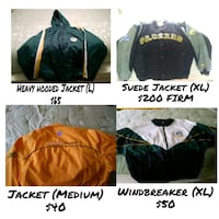PACKERS JACKETS