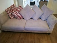 4seater sofa, chair and footstool  Stockport