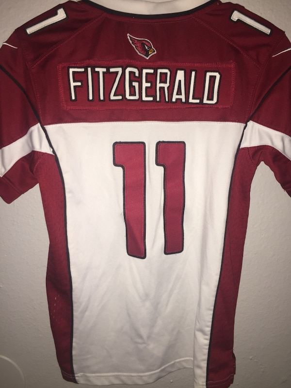 b0668a0a524 Used NFL Larry Fitzgerald Stitched Youth Jersey  Medium  for sale in Fresno  - letgo