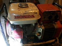 white and red Honda portable generator Peachland, V0H 1X2