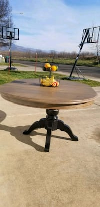 Black and barnwood table