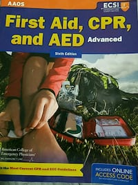 First Aid,CPR,and AED six Edition