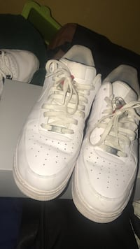Nike Air Force all white & legend blue 4s both size 13 Toronto, M3N
