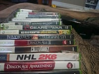 assorted Xbox 360 games excellent condition  Red Deer, T4P 2H8