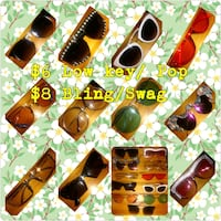 assorted color sunglasses with case Washington, 20019