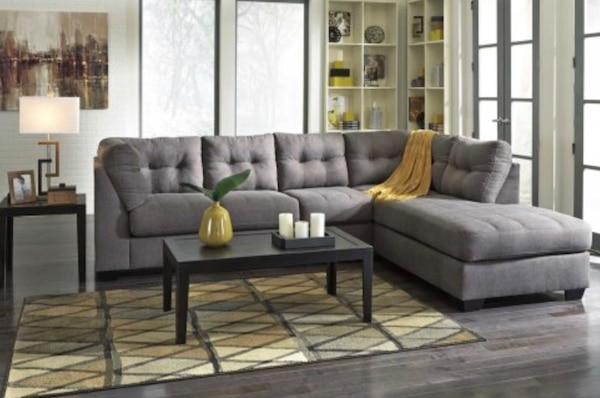 Ashley S Furniture Maier Grey Collection Section