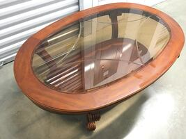 Glass-Top Coffee / Cocktail Table