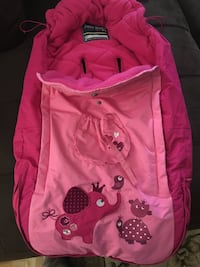 Baby zipper cover for car seat