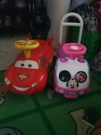two white and red ride-on toys Springfield