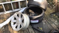 2 BMW low profile tires are new 4 Rims,size 295/252R Baltimore, 21225
