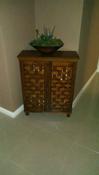 brown wooden 3-drawer chest Holiday