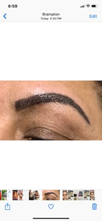 Microblading  Stocks and also do soft tape and ombré and deluxe brows