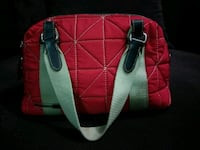 Red Quilted Bag Surrey, V3R