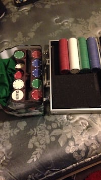Poker Chips set with duralumin case