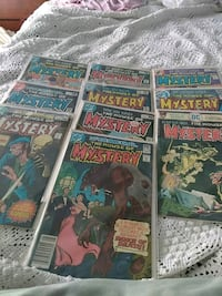 House of Mystery comic books 41 mi