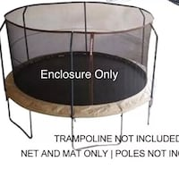 Trampoline Enclosure only Bakersfield, 93313