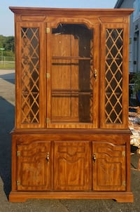Vintage Retro China Cabinet Graham, 27253