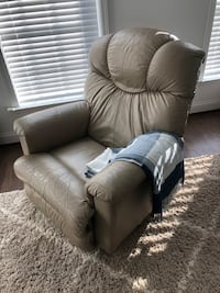 Tan Leather Recliner Chair