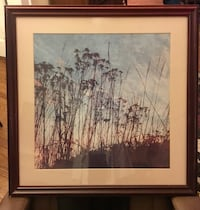 brown wooden framed painting of trees Greensboro, 27401