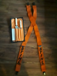 STIHL chainsaw sharpening kit/ suspenders . Vancouver, V5T 4K8