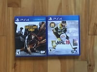 two Sony PS4 game cases Montréal, H8S 3Z8