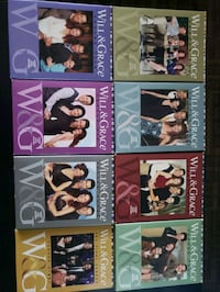 Will & Grace Full Seasons 1-8 Great Condition