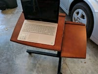 Mobile laptop stand, adjusts 2 available Cold Spring, 41076