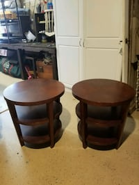 Wood round end tables Gilbert, 85295