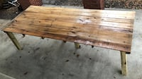 Barn house table free shipping Tampa, 33629
