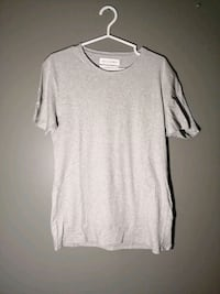 Zara Basic Tee - Grey