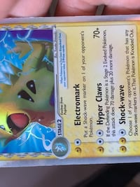 Authentic Pokemon Card Morganville, 07751