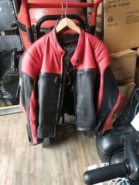 Red and Black Riding Jacket Ruskin