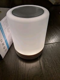 Bluetooth speaker and table lamp