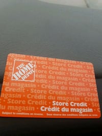 Home depot giftcards Toronto, M4G 4H9
