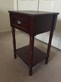 Lamp stand and drawer