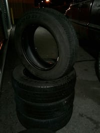 A comlpete set 195/65 r15 Goodyear Integrity