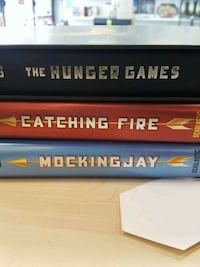 The Hunger Games, Catching Fire, Mockingjay Books
