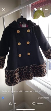 Warm duffle coat with bonnet (2Y) Mississauga