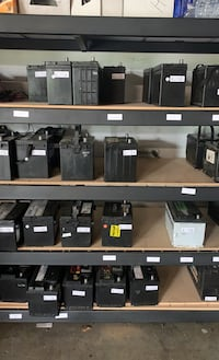 Used Batteries, Reconditioned