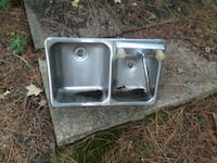 stainless steel double sink La Plata, 20646