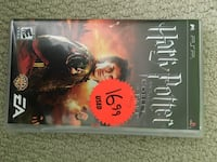 Harry Potter And The Goblet Of Fire Sony PSP