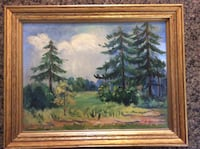 1941 Oil Painting by Wisconsin Artist