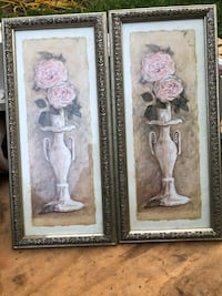 Set of wall flower painting$20 obo Lincoln, 19960